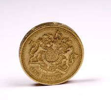 Free One Pound Sterling Royalty Free Stock Photo - 5188745