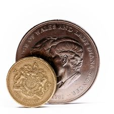 Free One Pound Sterling Stock Images - 5188754