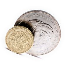 One Pound Sterling Stock Image