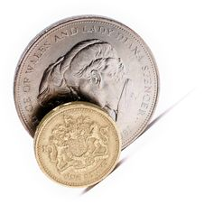 Free One Pound Sterling Stock Photography - 5188792