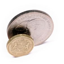 Free One Pound Sterling Stock Image - 5188811