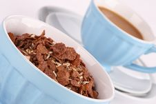 Free Chocolate Corn Flakes Stock Photography - 5188872