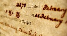 Free Handwriting Stock Image - 5188931