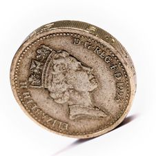 Free One Pound Sterling Stock Photography - 5189042