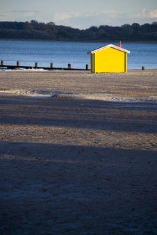Free Yellow Beach Hut Stock Photo - 5189060