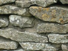 Free English Dry Stone Walling Stock Image - 5189431