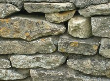 Free English Dry Stone Walling Stock Photo - 5189500