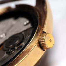 Free Watch Mechanism Stock Photography - 5189612