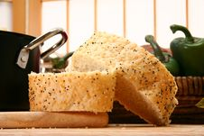 Free French Bread With Sesame And Poppy Stock Photo - 5189700