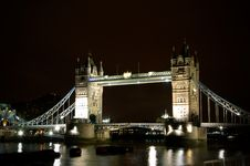 Free London By Night Royalty Free Stock Photos - 5189808