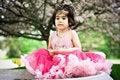 Free Girl In Flower Garden Royalty Free Stock Photo - 5192995
