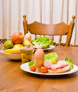 Free Snacks On Table Stock Image - 5194091