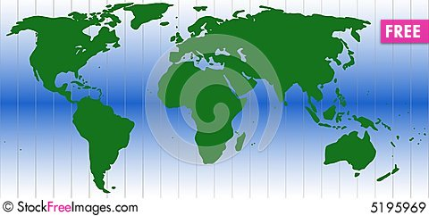 World map free stock images photos 5195969 stockfreeimages world map gumiabroncs Images