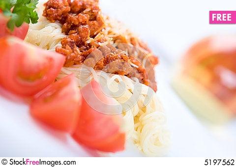Free Italian Pasta Stock Photography - 5197562