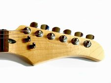 Free Maple Guitar Head Stock Photo - 5190300