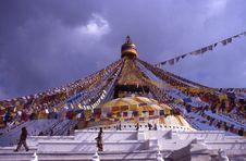 Free Boudhnat, Kathmandù Royalty Free Stock Images - 5190749