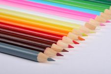 Free Colorful Pencils Stock Photography - 5191422
