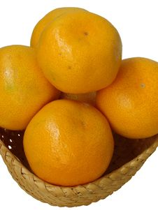 Free Ripe Oranges Royalty Free Stock Photos - 5191448