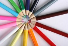 Free Colorful Pencils Royalty Free Stock Image - 5191576