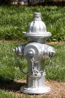 Free Silver Hydrant Stock Photos - 5191603