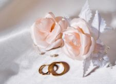 Free Wedding Rings Stock Photography - 5191982