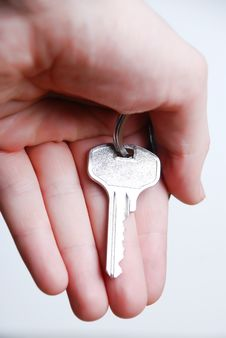 Free Key In Hand Stock Photography - 5192052