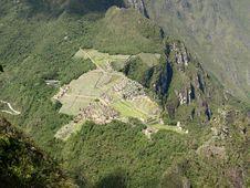 Machu Picchu, Wayna Picchu Stock Photo