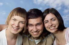 Free Three Friends Stock Photography - 5192282
