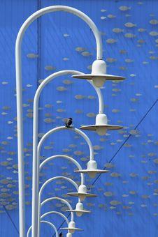 Free White Lamps Stock Photo - 5192340