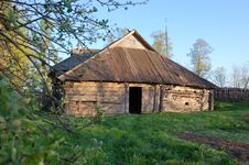 Free Old Wooden House Royalty Free Stock Photos - 5192528