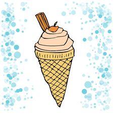 Free Strawberry Ice Cream Stock Photo - 5192550
