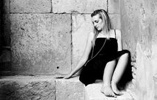 Free Sad Woman Royalty Free Stock Image - 5192826