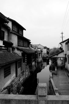 Free Xitang Historic Town Of China Royalty Free Stock Photography - 5193367