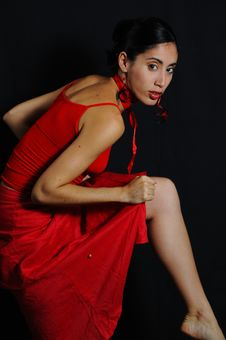 Free Flamenco Dancer Royalty Free Stock Photos - 5193428