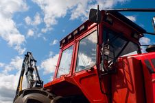 Free Tractor Cabin Stock Photos - 5193713
