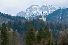 Free Castle Neuschwanstein Stock Images - 5194174