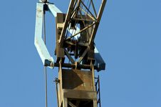 Free Details Of A Crane Royalty Free Stock Photos - 5195988