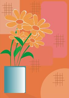 Free Flowers And Vases Stock Photography - 5196042