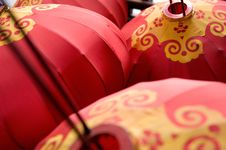 Free Chinese Lanterns Stock Photography - 5196202