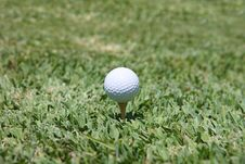 Free Golf And Dimple Royalty Free Stock Photo - 5196395