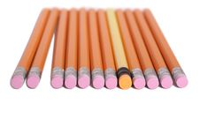 Free Pencil Line Royalty Free Stock Photography - 5197057