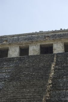Free Temple Detail Palenque, Mexico Royalty Free Stock Photos - 5197148