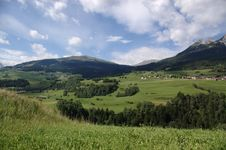 Free Swiss Rural Landscape Royalty Free Stock Photography - 5197877