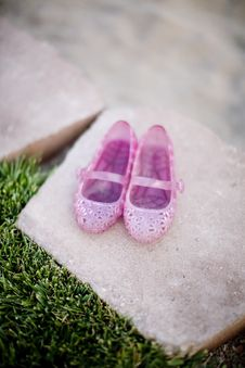 Girl Shoes Royalty Free Stock Image