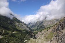 Free Swiss Mountain Landscape Stock Photo - 5198040