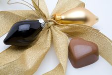 Free Belgian Chocolate Valentine Heart Stock Images - 5198114