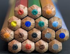 Free Coloured Pencils Stock Photo - 5198180