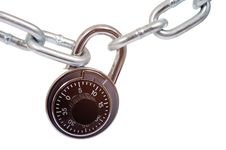 Free Lock And Chain Royalty Free Stock Photo - 5198235