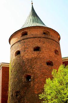 Free Gunpowder Tower Stock Photography - 5198472