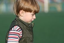Free The Cheerful Kid Stock Photography - 5198522